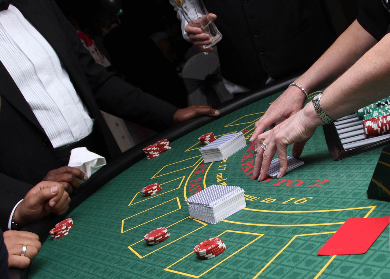 Blackjack Hire London